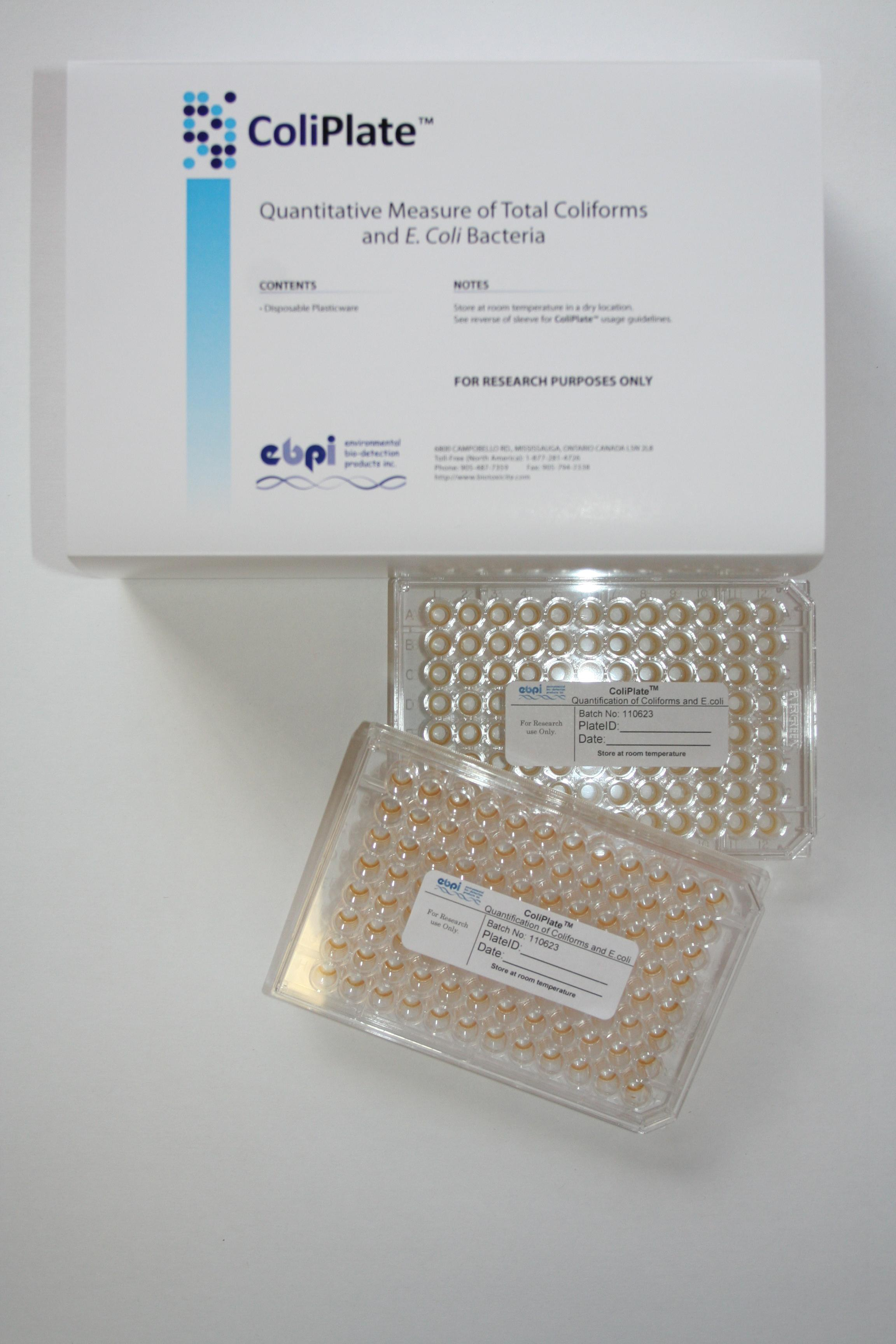 E coli and bacterial testing kit