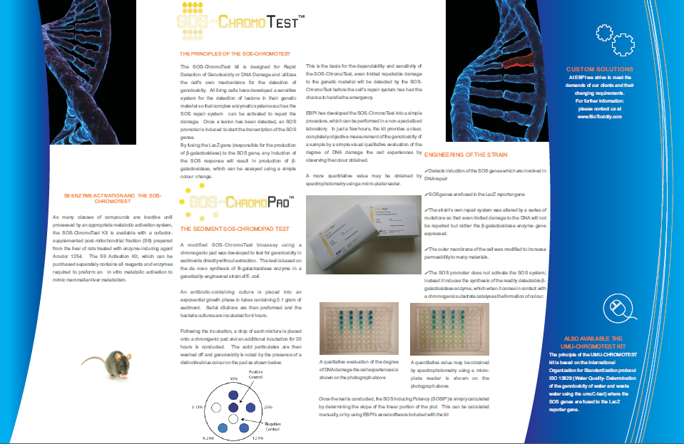 sos chromotest for genotoxicity